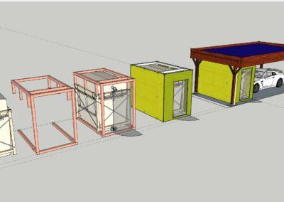 Carport POCHON Sàrl avec Flexilo-Compact OekoFEN