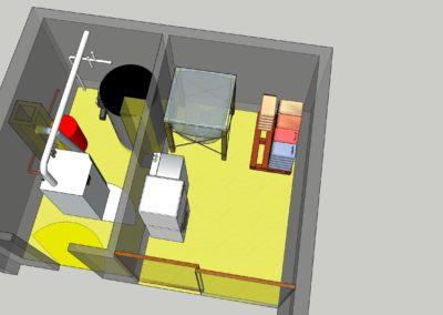 POCHON Sàrl exemple av. Silo S110 SP OekoFEN + Condens 10 kW